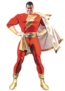 Captain Marvel DC Comics