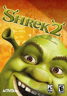 Shrek 2 North American Microsoft Windows box art