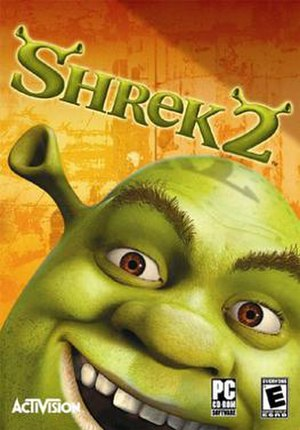 Shrek 2 (video game) - Shrek 2 North American GameCube box art