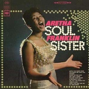 Soul Sister (Aretha Franklin album) - Image: Soul Sister album