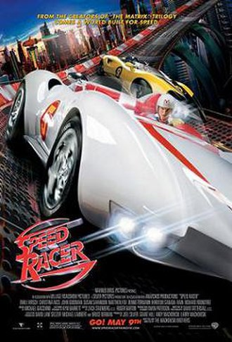 Speed Racer (film) - Theatrical release poster