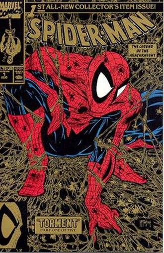 Todd McFarlane - McFarlane's cover for Marvel's Spider-Man No. 1 (August 1990)
