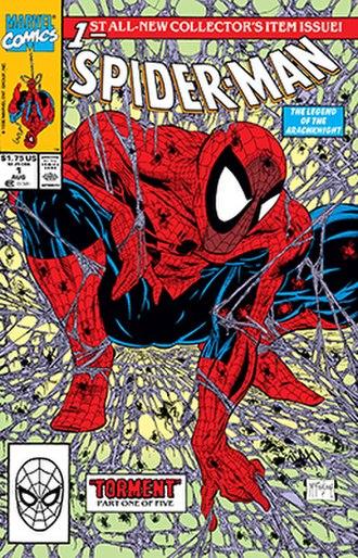 Peter Parker: Spider-Man - Image: Spiderman 1cover