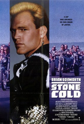 Stone Cold (1991 film) - Film poster for Stone Cold