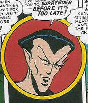 Carl Pfeufer - Image: Sub Mariner Pfeufer Marvel Mystery Comics 42