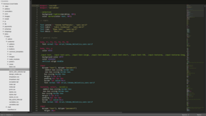 Sublime Text - The interface of Sublime Text 2