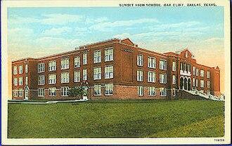 Sunset High School (Texas) - Image: Sunsethighschool