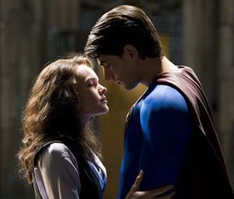 Superman and Lois Lane - Lois Lane (Kate Bosworth) and Superman (Brandon Routh) in Superman Returns (2006)