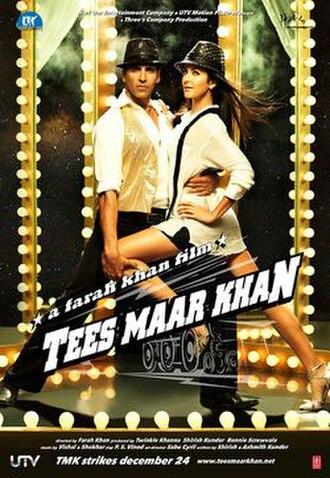 Tees Maar Khan (2010 film) - Theatrical release poster