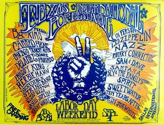 Texas International Pop Festival - Texas International Pop Festival poster