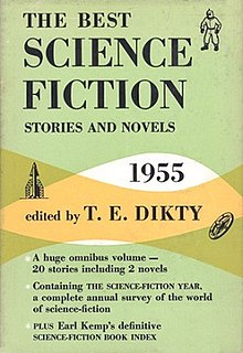 <i>The Best Science Fiction Stories and Novels: 1955</i> book by T. E. Dikty