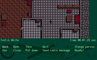 The Clue! - A Screenshot showing the planning of a robbery