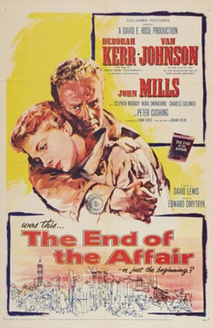 The End of the Affair (1955 film) - Image: The End of the Affair 1955 film
