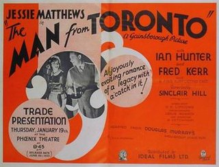 <i>The Man from Toronto</i> 1933 film by Sinclair Hill