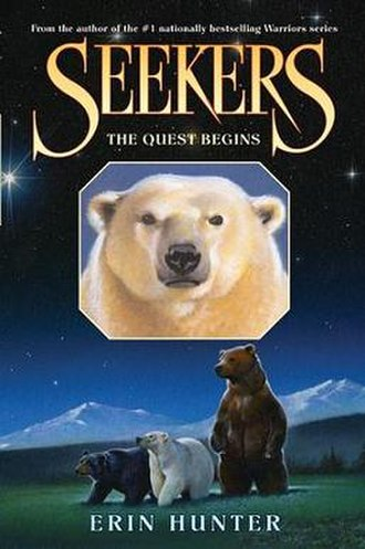 Seekers (novel series) - The cover of The Quest Begins, the first book in the series