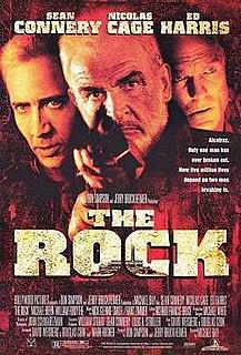 <i>The Rock</i> (film) 1996 film by Michael Bay