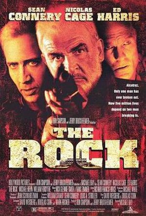 The Rock (film) - Theatrical release poster