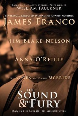 The Sound and the Fury (2014 film) - Theatrical release poster
