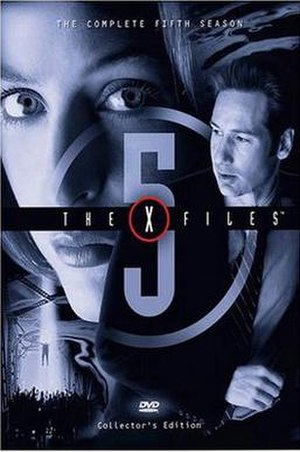 The X-Files (season 5) - DVD cover