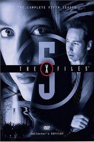 The X-Files (season 5) - DVD cover