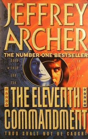 The Eleventh Commandment (novel) - First edition (publ. HarperCollins, UK)