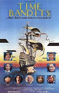 <i>Time Bandits</i> 1981 British fantasy film directed by Terry Gilliam