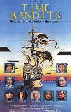 Time Bandits - Theatrical release poster