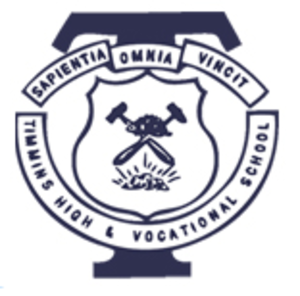 Timmins High and Vocational School - Image: Timmins High Logo