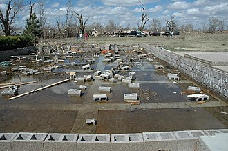 Tornadoes of 2007 - Demolished home in Holly, Colorado on March 28, 2007