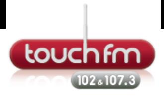 Touch FM (Stratford-upon-Avon) - Image: Touch 102FM logo