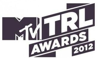 MTV Italian Music Awards - TRL Awards logo used in 2012.