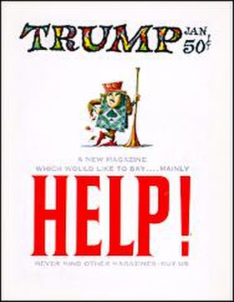 Trump (magazine) - Image: Trump 1 magazine cover