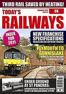 Typical current front page of Today's Railways UK magazine.jpg