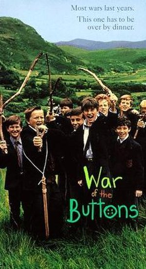 War of the Buttons (1994 film) - Theatrical release poster