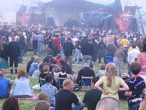 Wickerman Festival - Wickerman 2006 goers
