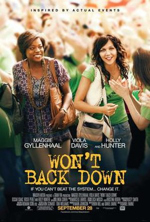 Won't Back Down (film) - Theatrical poster