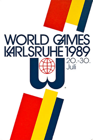 1989 World Games - Image: World Games 1989 logo