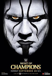 Night of Champions (2015) 2015 WWE pay-per-view and WWE Network event