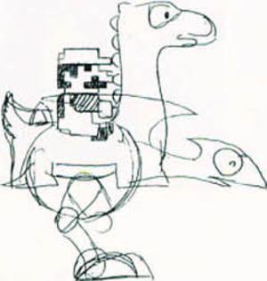 Yoshi - Image: Yoshi concept