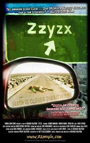 Zzyzx (film) - Image: ZZYZX poster 4