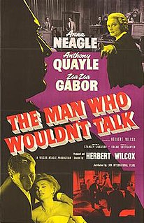 <i>The Man Who Wouldnt Talk</i> (1958 film)
