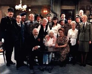 'Allo 'Allo! - 1988 cast photo