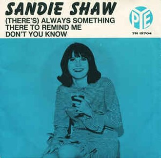 (There's) Always Something There to Remind Me - Image: (There's) Always Something There to Remind Me Sandie Shaw