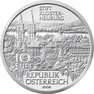 Leopoldsberg - Klosterneuburg commemorative coin