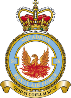 No. 56 Squadron RAF Flying squadron of the Royal Air Force
