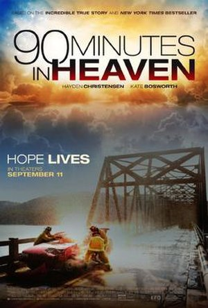 90 Minutes in Heaven (film) - Theatrical release poster