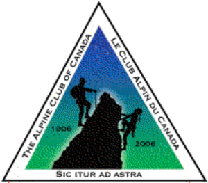 Alpine Club of Canada - ACC centennial logo