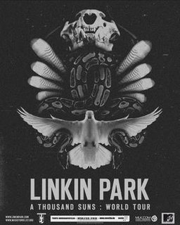A Thousand Suns World Tour concert tour by Linkin Park