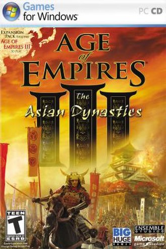 Age of Empires III: The Asian Dynasties - Image: Age of Empires III The Asian Dynasties Cover