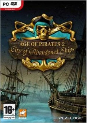 Age of Pirates 2: City of Abandoned Ships - Image: Age of Pirates 2 cover